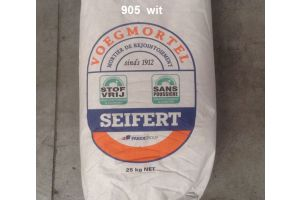 Ready-to-use white grout